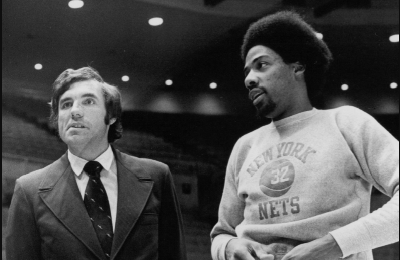 On this day in 1987 Julius Erving (right) became the 3rd player to score 30,000 career points
