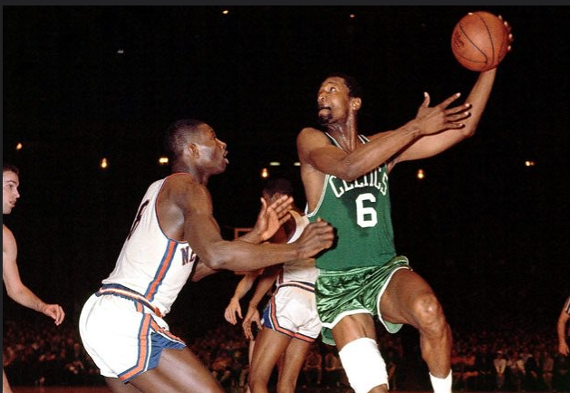 On this day in 1966 Bill Russell (right) became the first African American head coach