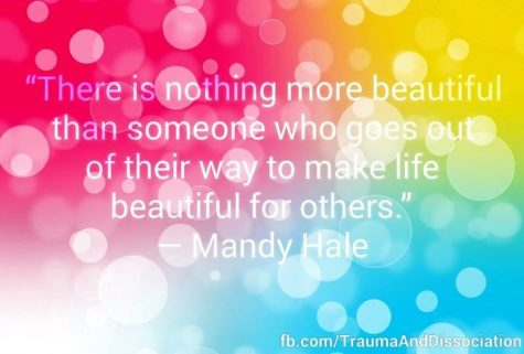 "Mandy Hale. ""There is nothing more beautiful than someone who goes out of their way to make life beautiful for others."""