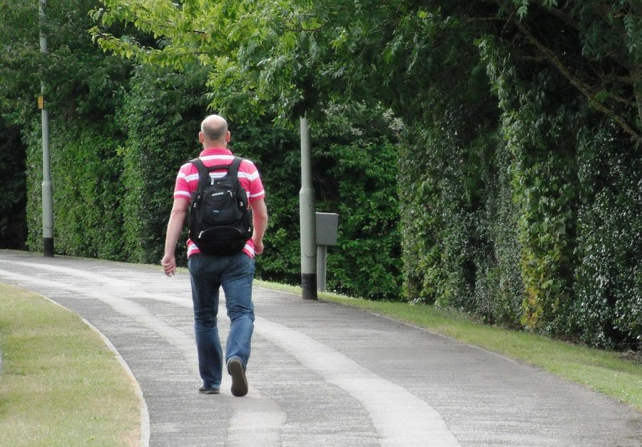 The average person walks 1.5-2 miles each day