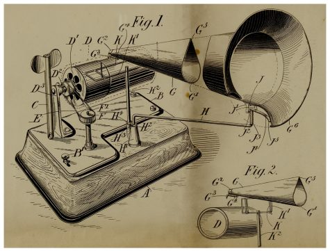 Thomas Edison´s phonograph