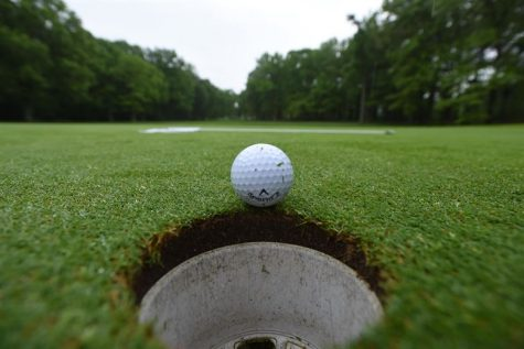 A hole in one is when you get the golf ball in the hole in one try