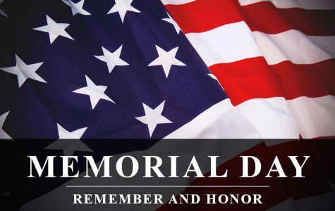 Memorial Day is when we remember our fallen soldiers