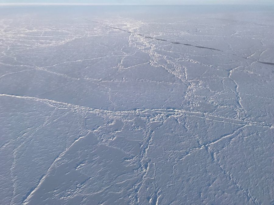 The North Pole is not located on any continent