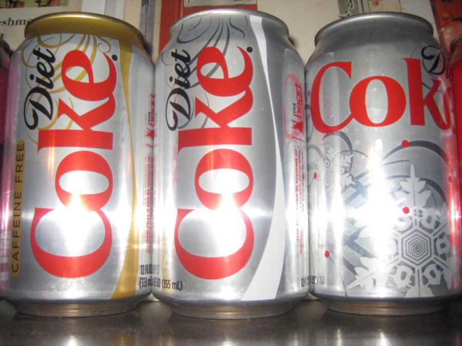 Diet Coke is one of the most famous types of diet soda