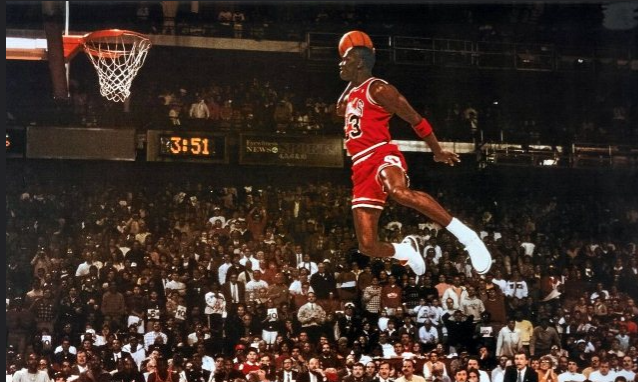 On this day in 1988 Jordan became the first player to score 50 or more points in back to back playoff games