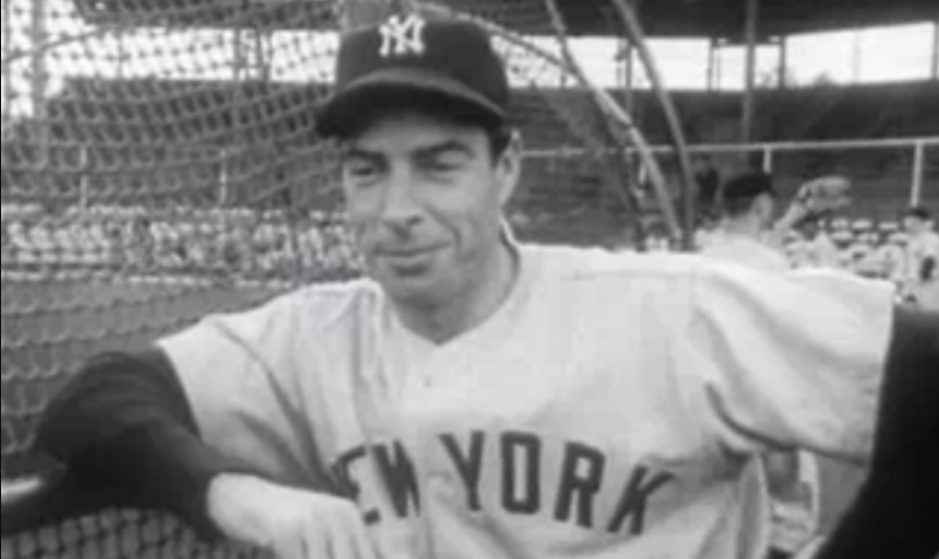 On this day in 1948 Joe Dimaggio hit 3 straight home runs