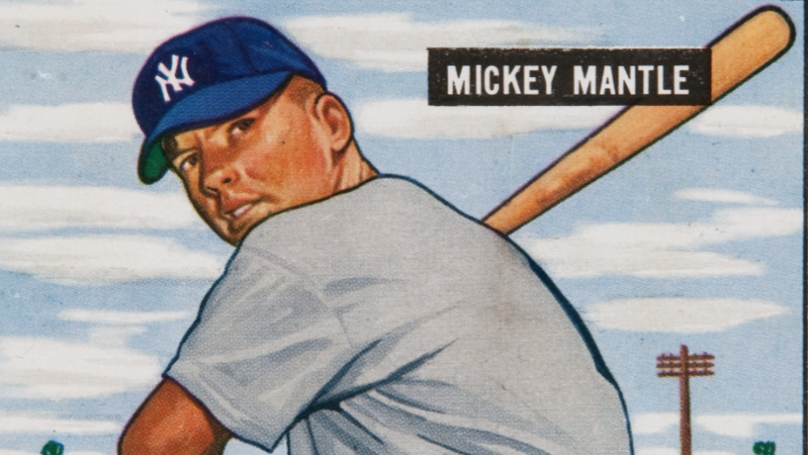 On this day in 1956 Mickey Mantle nearly hit the Yankee stadium roof with a home run