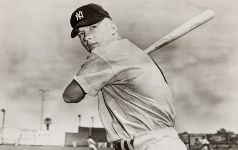 On this day in 1955 Mickey Mantle hit a 550 foot home run