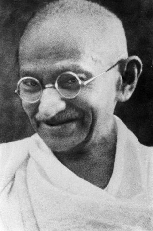 Mahatma Gandhi was born on October 2, 1869 in Porbandar India. He was widely known for non violence protests and he became recognized as the father of his country.