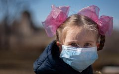 Even younger children are obligated to wear masks throughout the country. The CDC rules require children over the age of two to wear masks.