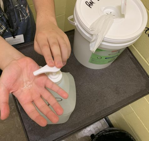AT the start of class and end of class, students must use the school provided hand-sanitizer and wipes to clean their space and their hands. Are students capable of cleaning properly?
