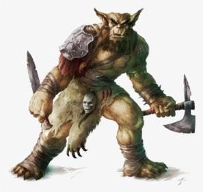 A bugbear is a legendary creature or type of hobgoblin.