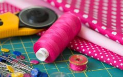 With trying to be environmentally friendly, one trending fashion option this fall that anyone can do is patchwork. Repurpose old garments that no longer fit by adding elements of that garment to a new jacket, shirt or pair of pants.