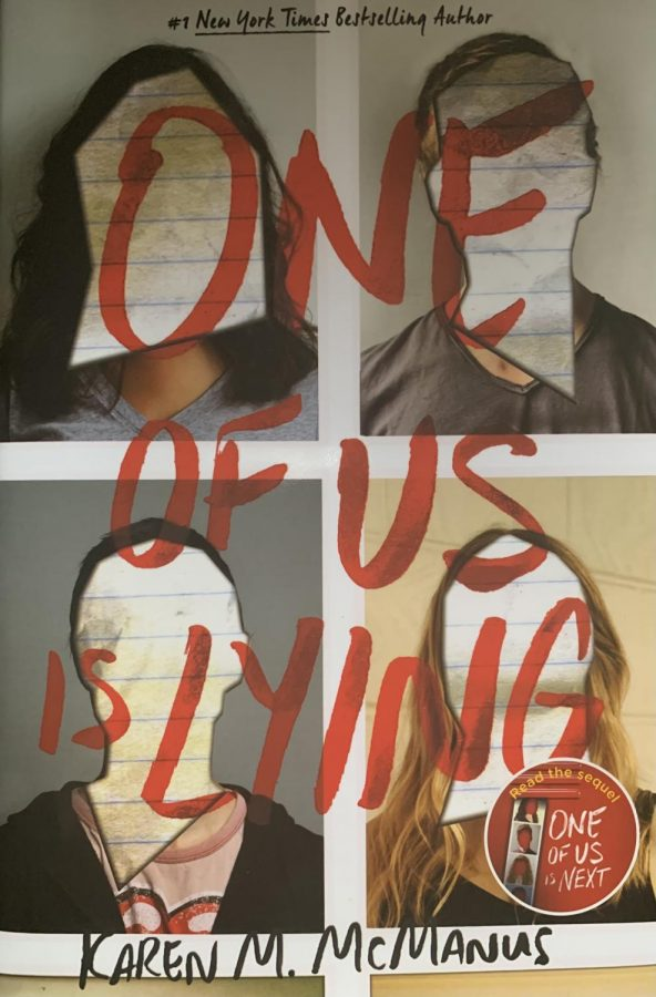 A+New+York+Times+Bestseller%2C+One+of+Us+is+Lying+is+a+masterpiece.+It+can+almost+be+called+the+Breakfast+Club+with+a+dark+spine-chilling+twist.+