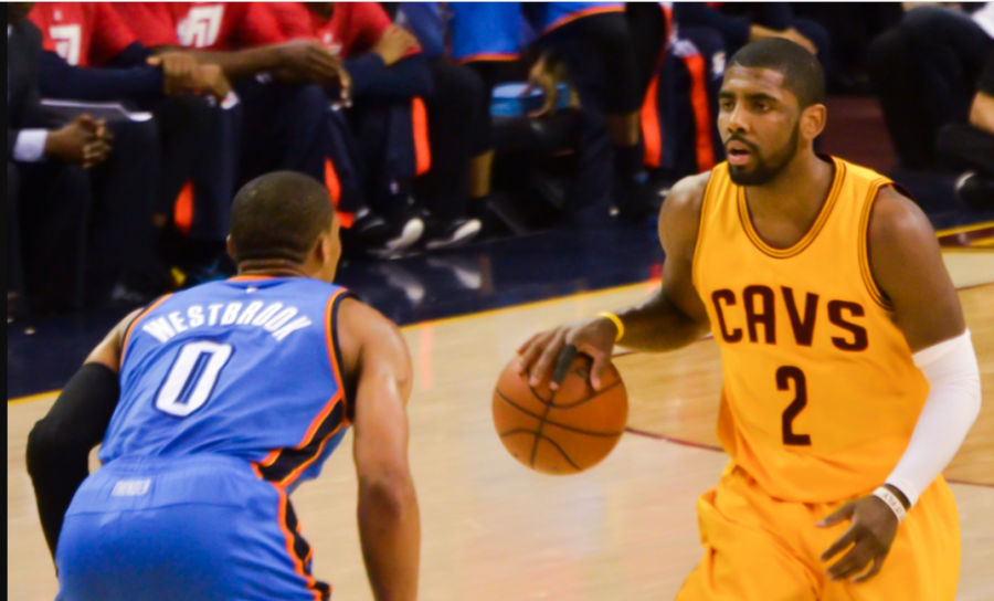 The media has been creating story lines for the NBA since the leagues start. However, sometimes these story lines can have negative impacts on players careers like Russell Westbrook (left) and Kyrie Irving (right)