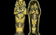 A sarcophagus is a box-like funeral receptacle for a corpse, most commonly carved in stone.