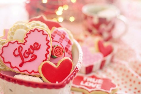 Hugs, kisses, love is only some of what makes up Valentine