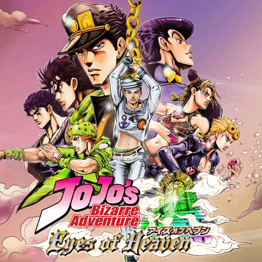This+is+a+poster+for+the+Jojo+fighting+game.+It+depicts+every+main+character+from+all+8+parts+of+the+manga