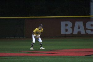 This years graduating class features 5 baseball players. One of them is outfielder Harrison Brindley