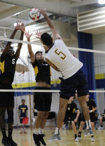 After having their 2020 season cancelled due to Covid, the CHS boys volleyball team was more than ready to serve up a W this season.