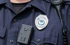 Cameras used by police look more like a rectangular grey voice recorder than the average camera.