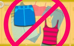 Most summer attire is not allowed in schools per dress code.