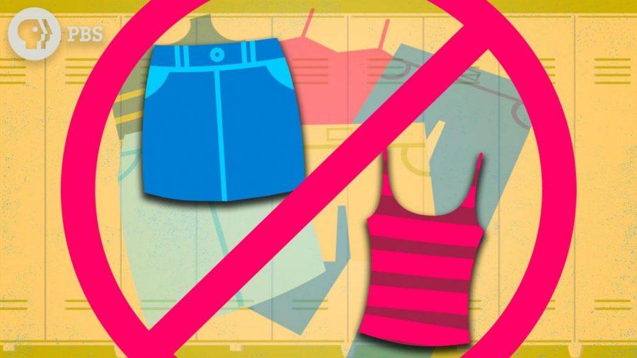 Most summer attire is not allowed in schools per dress code.