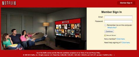 Although Netflix