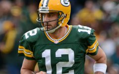 Aaron Rodgers took home the Play of the Year award for his game-winning Hail Marry pass against the Detroit Lions.