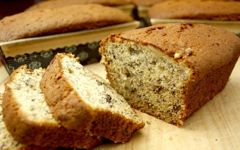 Banana bread is very good for your heart, which is all because of the bananas in them! Bananas are high in potassium, which regulates blood pressure and normalizes the hearts function.