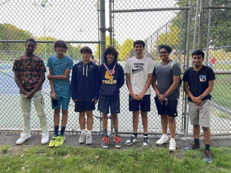 Due to COVID-19, the 2020-2021 tennis season was delayed. CHS tennis had to overcome an abundance of obstacles, but in the end, still managed to have an undefeated season.