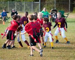 Showcase danger of childrens football